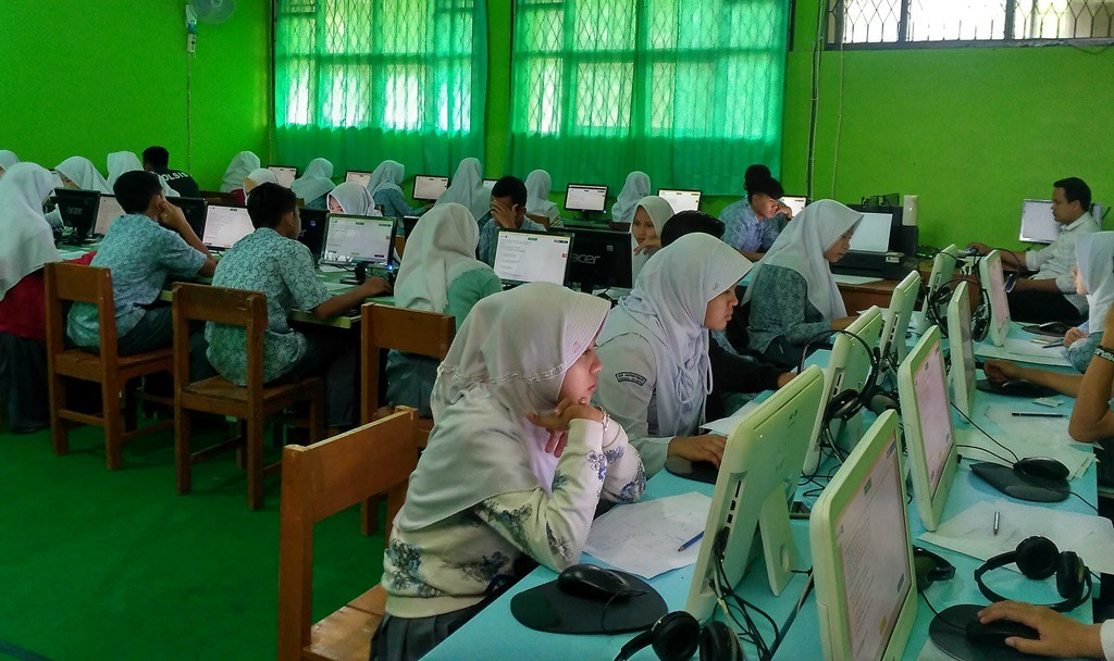 UNBK 2018 MAN 4 Sukabumi Berjalan Lancar