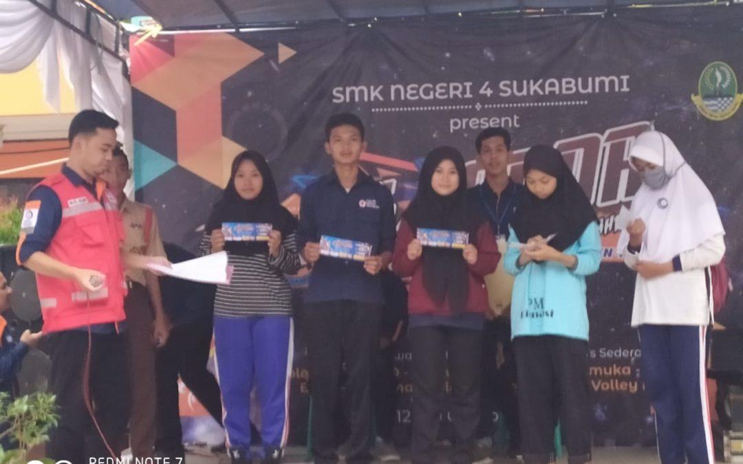 PMR MAN 4 Sukabumi Borong Piala pada Cabang Lomba Mading 3 Dimensi