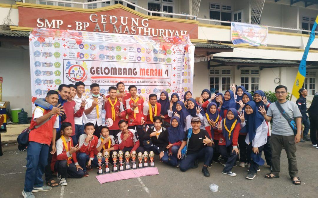 PMR Wira MAN 4 Sukabumi Sabet 4 Kejuaraan di ajang Gelombang Merah Wilayah Sukabumi Cianjur