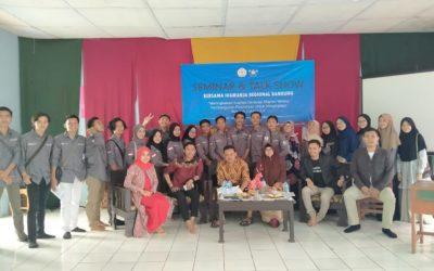 Seminar dan Gelar Wicara IKAMANJA dengan Siswa Kelas XII MAN 4 Sukabumi