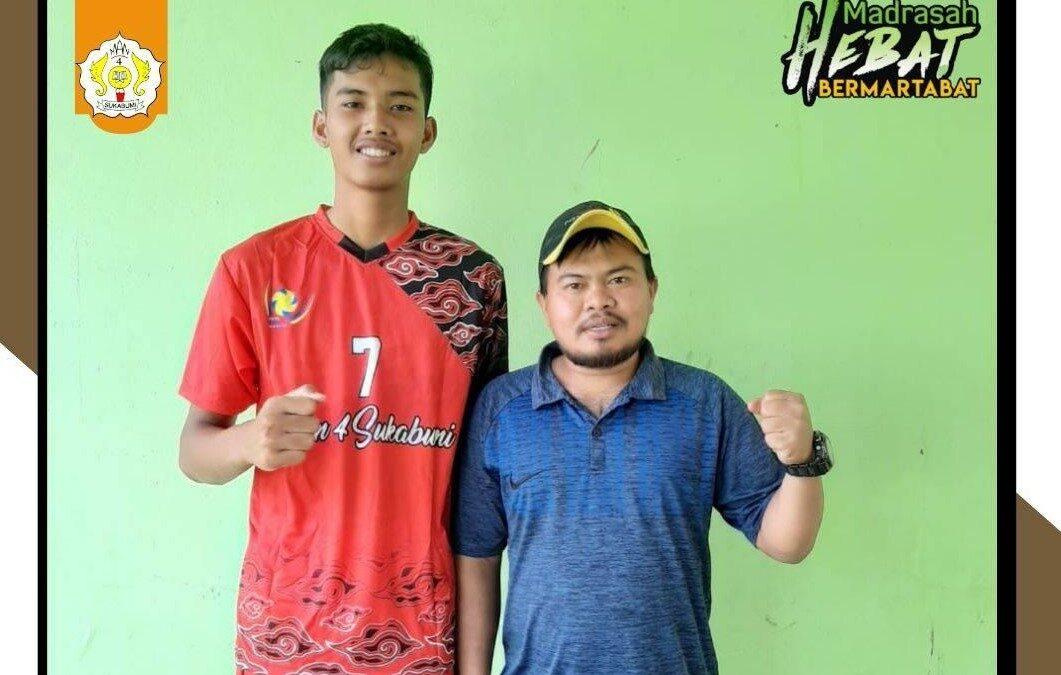 Mohamad Asraf : Siswa MAN 4 Sukabumi yang lolos Pra Porda Kabupaten Cianjur